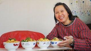 鸡蛋手擀面几十年都吃不烦,农村妈妈教您在家做,满满家的味道! 【泥土的清香】