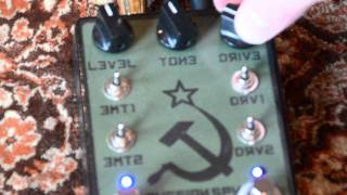 Skullytone FX Russian Spy (Civil War-era Big Muff) Demo