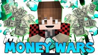 "Minecraft: ""NOTCH APPLES TOO OP"" MONEY WARS #14 (Epic Mini-Game)"