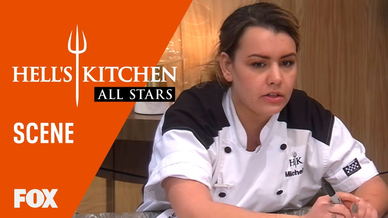Michelle Assigns Stations For The Next Menu Season 17 Ep 16 Hell S Kitchen All Stars