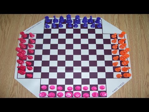 Four Player Chess! | GM Tal Baron Trying out 4 Player Chess
