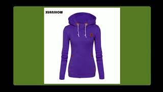 XUANSHOW 2017 Women Fashion Fleeces Sweatshirts Hooded