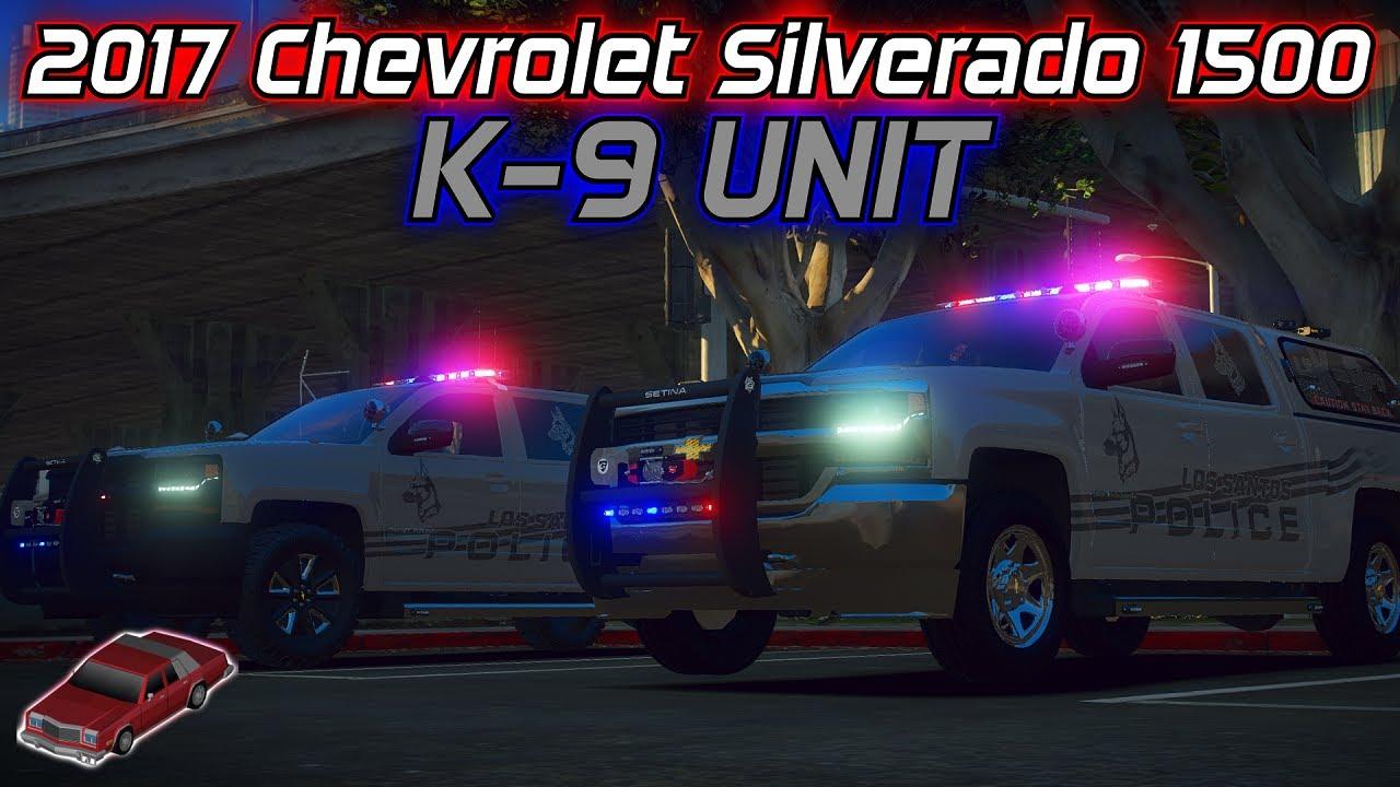 2017 Chevrolet Silverado 1500 K-9 UNIT | Showcase | Model Made By: JackTheDev#3347
