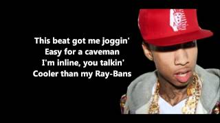 Maybe (Freestyle) - Tyga // Lyrics [HD]
