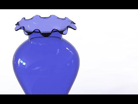 SolidWork Tutorial #205: Vase 5 (surface manipulation)