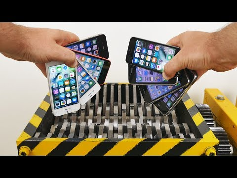 SHREDDING ALL iPhone MODELS !!!😨😨😨