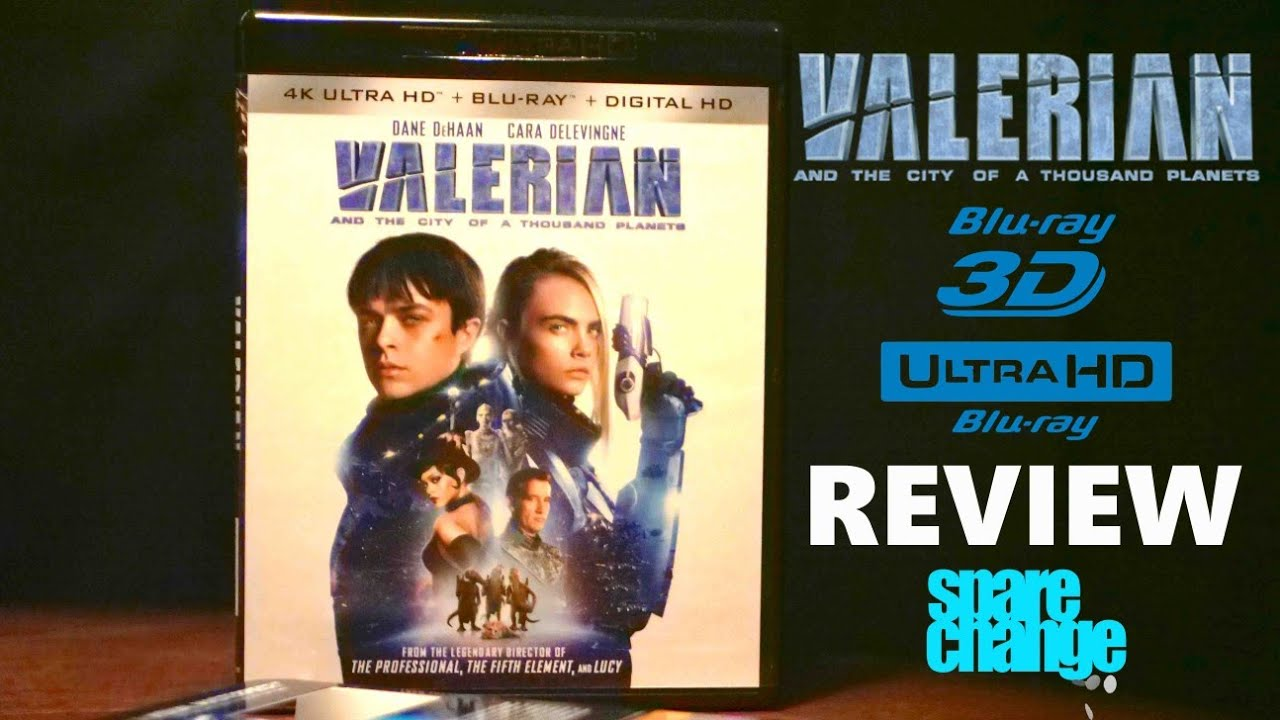 Valerian and the City of a Thousand Planets (2017) Blu-ray 3D