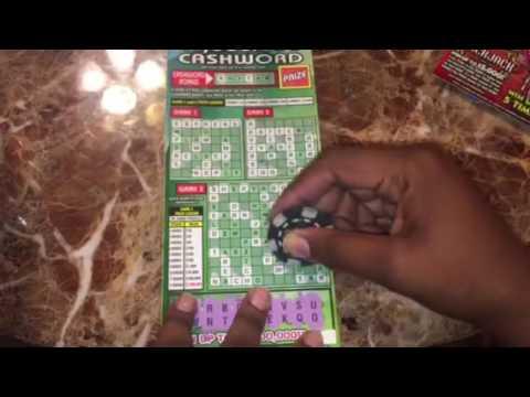 Florida Lottery: $1,000,000 Cashword