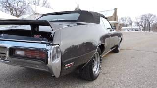 1972 Buick GS Convertible 350 charcoal for sale at www coyoteclassicscom