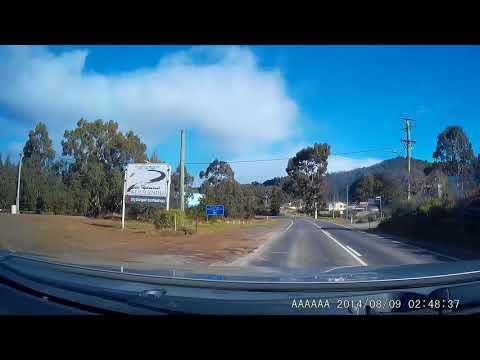 Drive along the Huon towards Geeveston