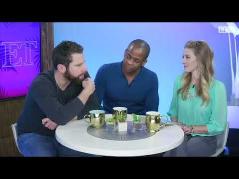 Psych: The Movie  James Roday and Dulé Hill on ET Live
