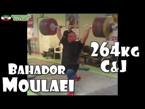 Bahador Moulaei (IRI, +105KG) | Olympic Weightlifting Training | Motivation | بهادر مولایی