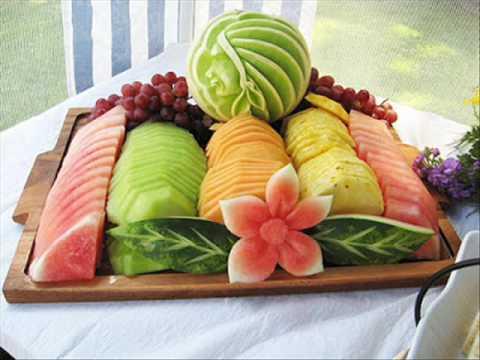 Fruit decoratie ideeën youtube