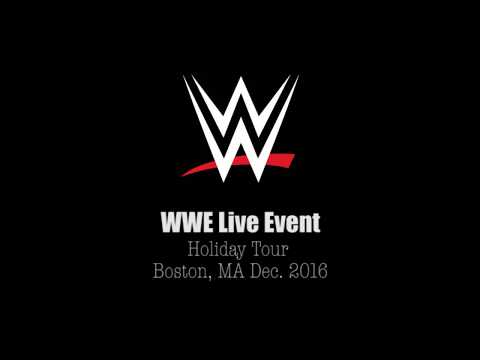 WWE Live Event - Kevin Owens VS Roman Reigns - TD Garden Boston, MA