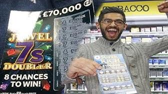 BEST Scratchcard Lottery Ticket Win (Scratch Card Lotto Jackpot Winner)