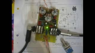 видео Примочки для электрогитары: Reverberator, Delay (Ревербератор, дилэй)