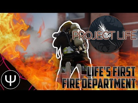 ARMA 3: Project Life Mod — Life's First Fire Department!