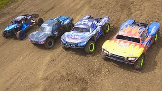 RC ADVENTURES - LiTTLE DiRTY 2016 Canadian Large Scale Mixed Class Racing Day - Track, Test & Tune