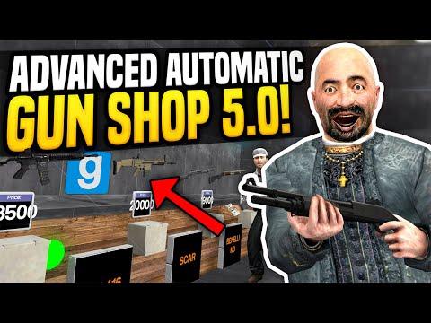 ADVANCED GUN SHOP 5.0 - Gmod DarkRP | Automatic Gun Shop!