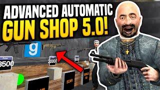 One of Fudgy's most viewed videos: ADVANCED GUN SHOP 5.0 - Gmod DarkRP   Automatic Gun Shop!