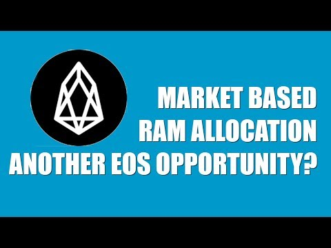 MARKET BASED RAM ALLOCATION: ANOTHER EOS OPPORTUNITY?