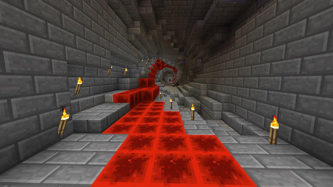 minecraft tutorial 2 zelda twisted hallway   youtube
