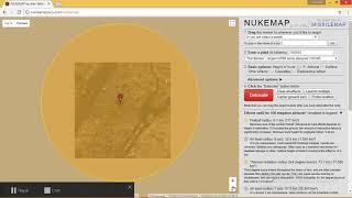 NukeMap 3D ОБЗОР