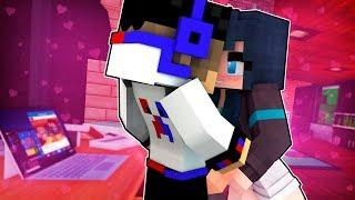 ВАМПИР ПОЦЕЛОВАЛ ДЕВУШКУ ❤️ Майнкрафт выживание Девушка ВАМПИР нуб против дети мультик Minecraft