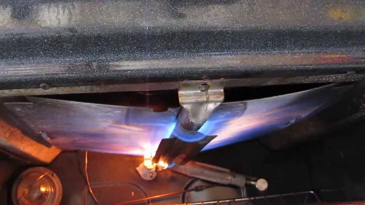 OFF GRID Converting Natural Gas Range To LP Propane By KVUSMC Pt 2