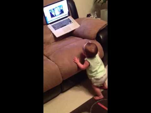 Dancing 9 month old