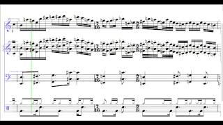 Presto, Vivace & Reprise (Excerpt) - UK | Sibelius Transcription
