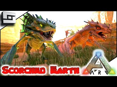 ARK: Scorched Earth - FIRE/POISON WYVERN! E30 ( Ark Survival Evolved Gameplay )