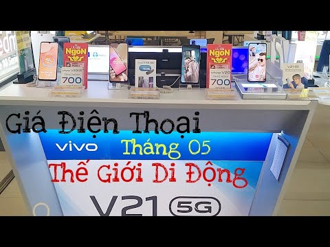 Cập Nhật Giá Điện Thoại Smartphone VIVO Tháng 05 Tại THẾ GIỚI DI ĐỘNG