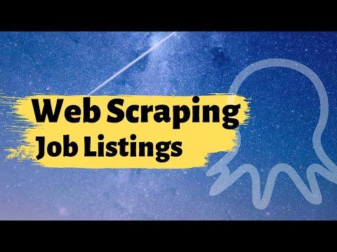 Web scraping | Scrape Job Postings from Glassdoor