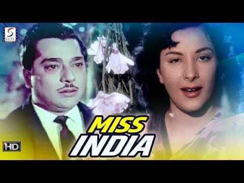 Miss India - HD Drama Movie - Nargis, Pradeep Kumar - B&W