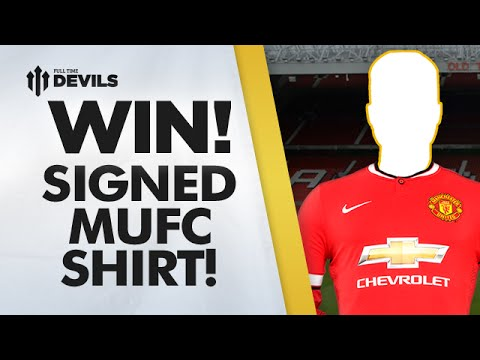 WIN A SIGNED MUFC SHIRT! | New Manchester United Kit 14/15 with Chevrolet