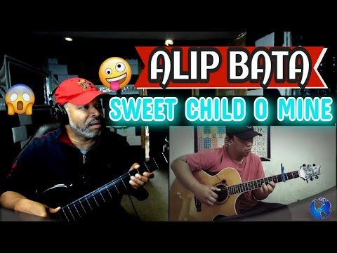 ALIP BA TA    Sweet Child O' Mine   Guns n' Roses (Fingerstyle Cover) #Alipers – Producer Reaction