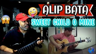 ALIP BA TA Sweet Child O' Mine Guns n' Roses (Fingerstyle Cover) #Alipers - Producer Reaction