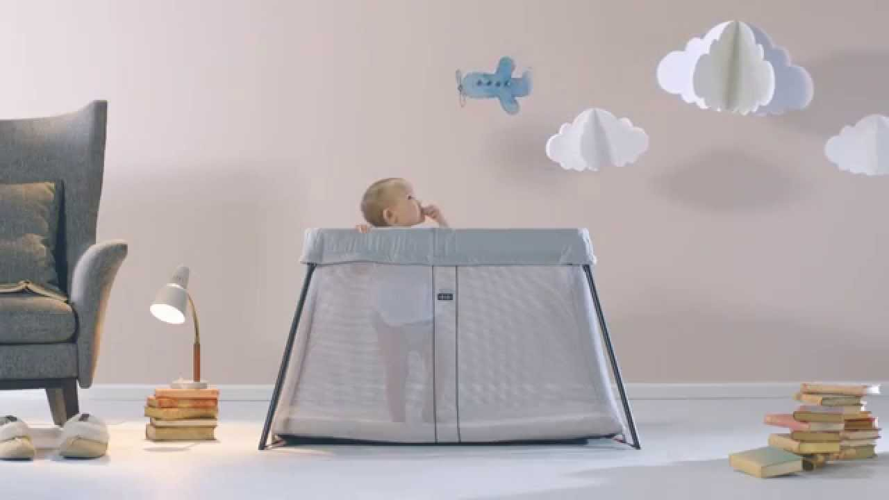 lit parapluie light de babybj rn youtube. Black Bedroom Furniture Sets. Home Design Ideas