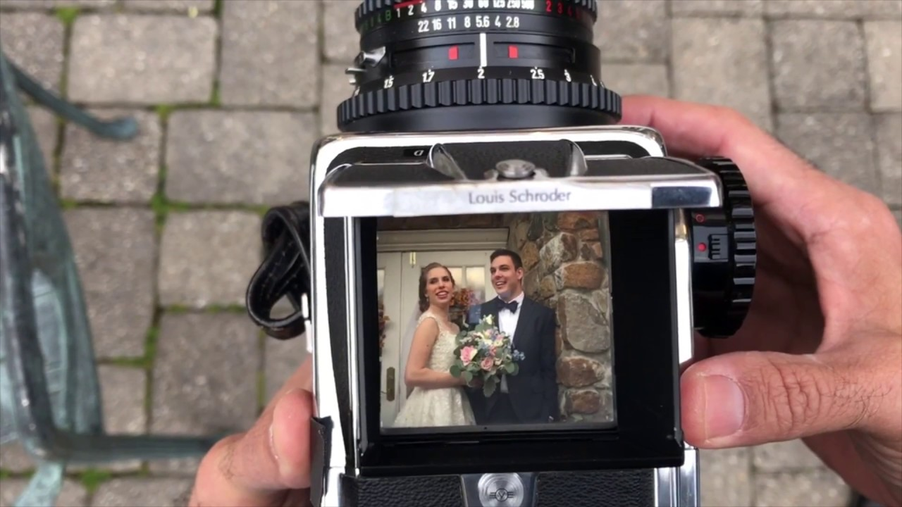 Hasselblad 500cm Behind the Camera: Weddings Shooting Film Photography