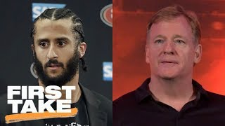 First Take debates if Colin Kaepernick should meet with Roger Goodell and NFL | First Take | ESPN