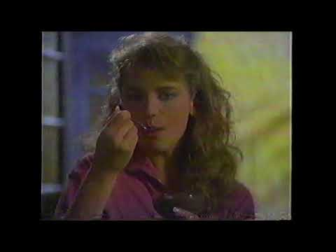 Sugar Free Jello instant pudding commercial 1987 featuring Harley Jane Kozak