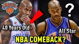 The 40 YEAR OLD Former All Star Who Is Trying To Make An NBA COMEBACK!!