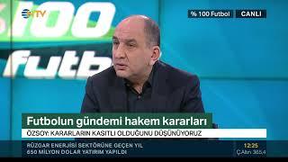 """Semih Özsoy: """"Yusuf Namoğlu zaten gidecek, bize mal etmesinler"""" (% 100 Futbol 12 Şubat 2019)"""