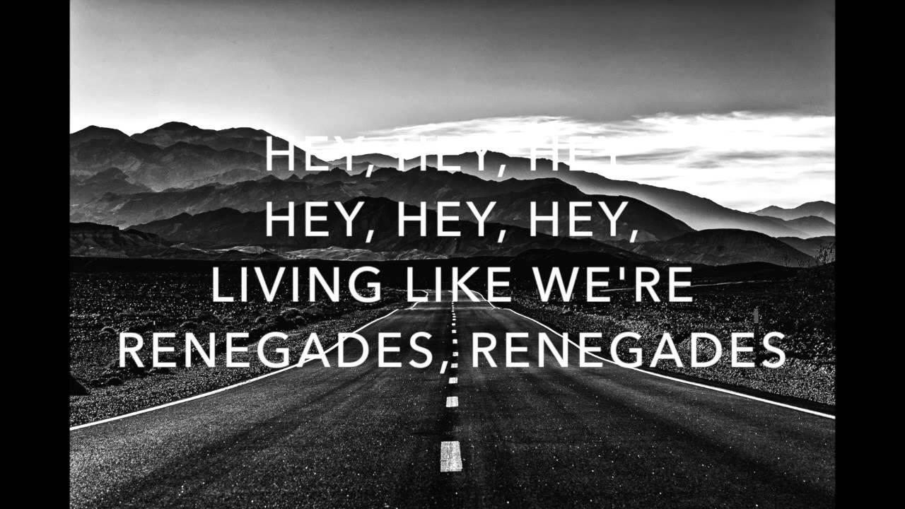 Renegades | X Ambassadors | Lyrics ☾☀