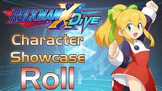 Mega Man X DiVE - Roll Showcase: Gameplay, Skills, Art, & 3D Model