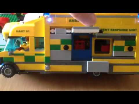 Lego hart ambulance moc youtube - Lego ambulance ...