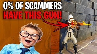 0% Of Scammers Have This Modded Grave Digger! (Scammer Gets Scammed) Fortnite Save The World