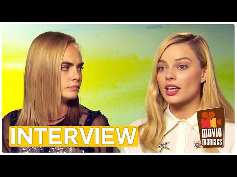 Suicide Squad | Cara Delevingne & Margot Robbie - Love isn't always pretty (Exclusive Interview)