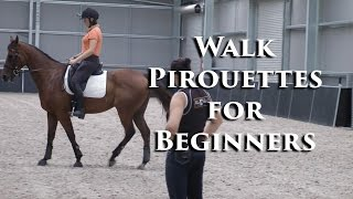Training The Walk Pirouette - Dressage Mastery TV Ep82